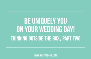 Thinking Outside the Box – PartTwo