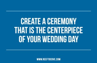 How to create a tailor-made weddingceremony